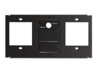 Bild von KRAMER T4F-23 TBUS-4XL Inner Frame fuer 2 Steckdosen mit 1 Kabeldurchfuehrung und 2 BlindPlatten