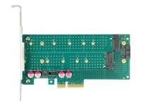 Bild von DELOCK PCI Express x4 Karte zu 1xM.2 Key B + 1xNVMe M.2 Key M - Low Profile Formfaktor
