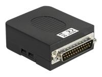 Bild von DELOCK Adapter Parallel DB25 Stecker zu Terminalblock 26 Pin mit Gehäuse