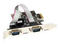 Bild von INLINE Schnittstellenkarte 2x Seriell 9-pol PCIe PCI-Express