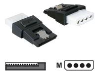 Bild von Delock Adapter Power 4pin Molex Buchse SATA Power 15pin Buchse mit Clip