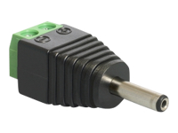 Bild von DELOCK Adapter DC 3,5 x 1,35 mm Stecker > Terminalblock 2 Pin