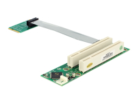 Bild von DELOCK MiniPCIe Riser-Karte > 2 x PCI 32bit/5V links 13cm Kabel