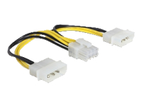 Bild von DELOCK Kabel Power 8 Pin EPS > 2 x 4 Pin Molex