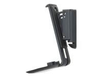 Bild von FLEXSON Sonos ONE Wandhalter in schwarz, 15grad neigbar und schwenkbar bis 40grad nach links und rechts