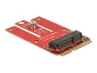 Bild von DELOCK Adapter Mini PCIe > M.2 Key E Slot